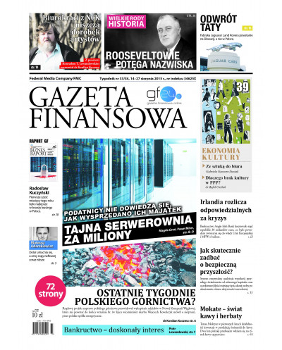 Gazeta Finansowa 34-34/2015