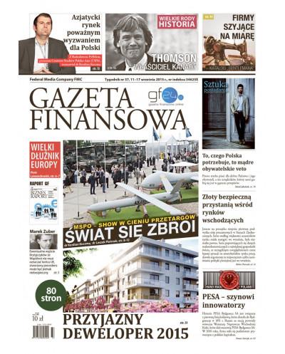 Gazeta Finansowa 37/2015
