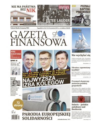 Gazeta Finansowa 38/2015