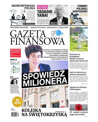 Gazeta Finansowa 39/2015