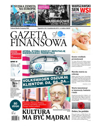 Gazeta Finansowa 40/2015