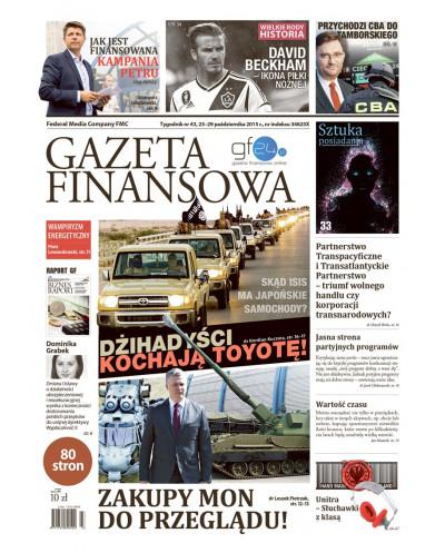 Gazeta Finansowa 43/2015