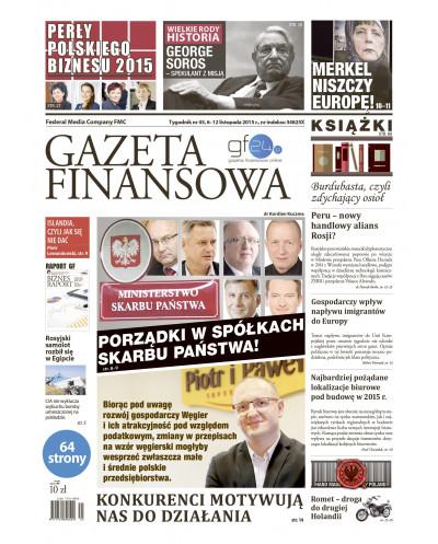 Gazeta Finansowa 45/2015