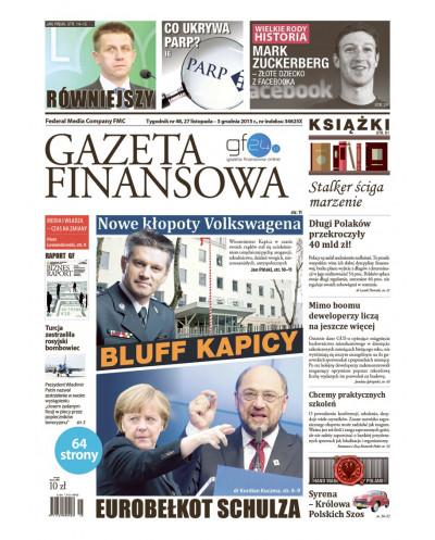 Gazeta Finansowa 48/2015