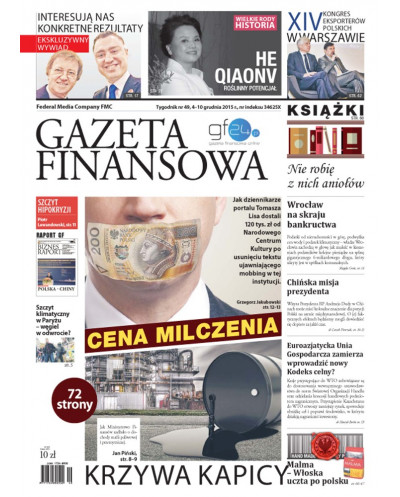 Gazeta Finansowa 49/2015