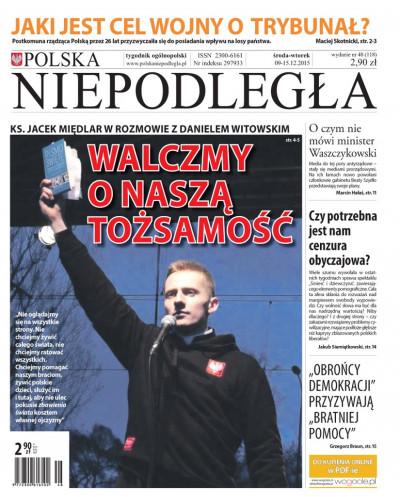 Polska Niepodległa 48/2015
