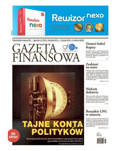 Gazeta Finansowa 51/2015