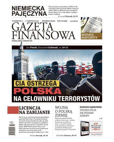 Gazeta Finansowa 14/2016