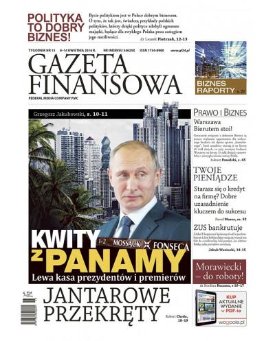 Gazeta Finansowa 15/2016