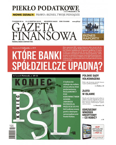 Gazeta Finansowa 16/2016
