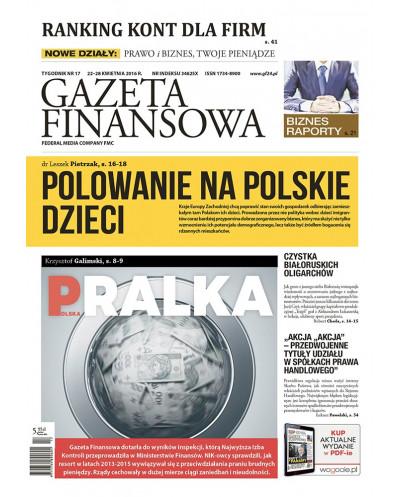 Gazeta Finansowa 17/2016