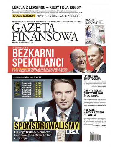 Gazeta Finansowa 18-19/2016