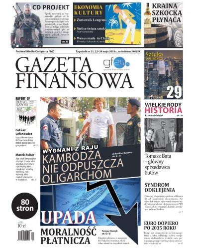 Gazeta Finansowa 21/2015