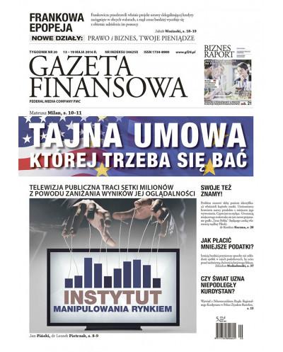 Gazeta Finansowa 20/2016