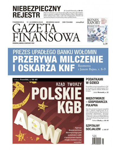Gazeta Finansowa 25/2016