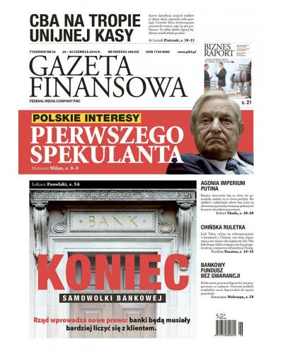 Gazeta Finansowa 26/2016