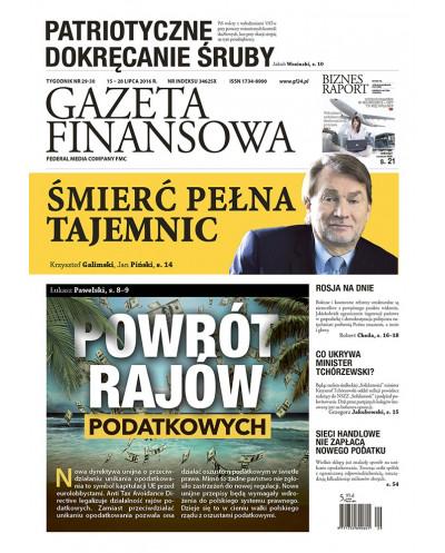 Gazeta Finansowa 29-30/2016