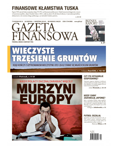 Gazeta Finansowa 35/2016
