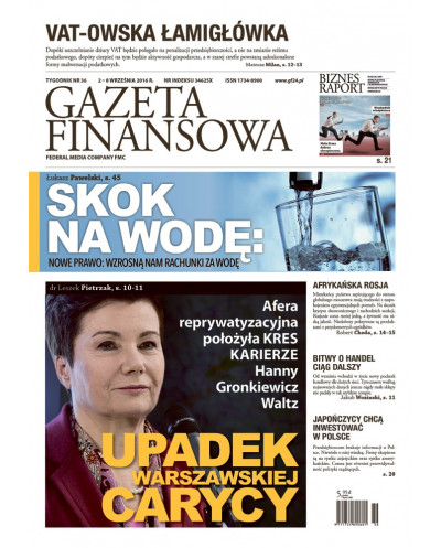 Gazeta Finansowa 36/2016