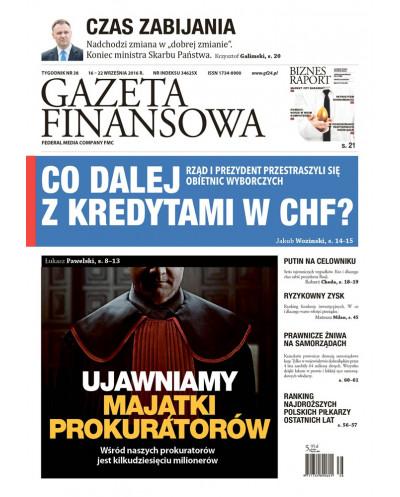 Gazeta Finansowa 38/2016