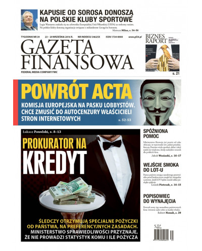 Gazeta Finansowa 39/2016