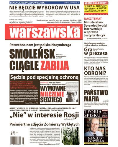 Warszawska Gazeta 38/2016
