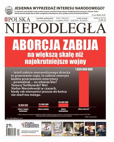 Polska Niepodległa 39/2016