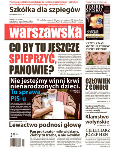 Warszawska Gazeta 41/2016