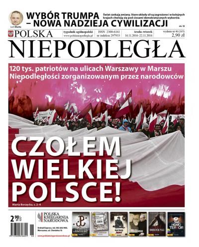 Polska Niepodległa 46/2016