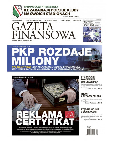 Gazeta Finansowa 47/2016