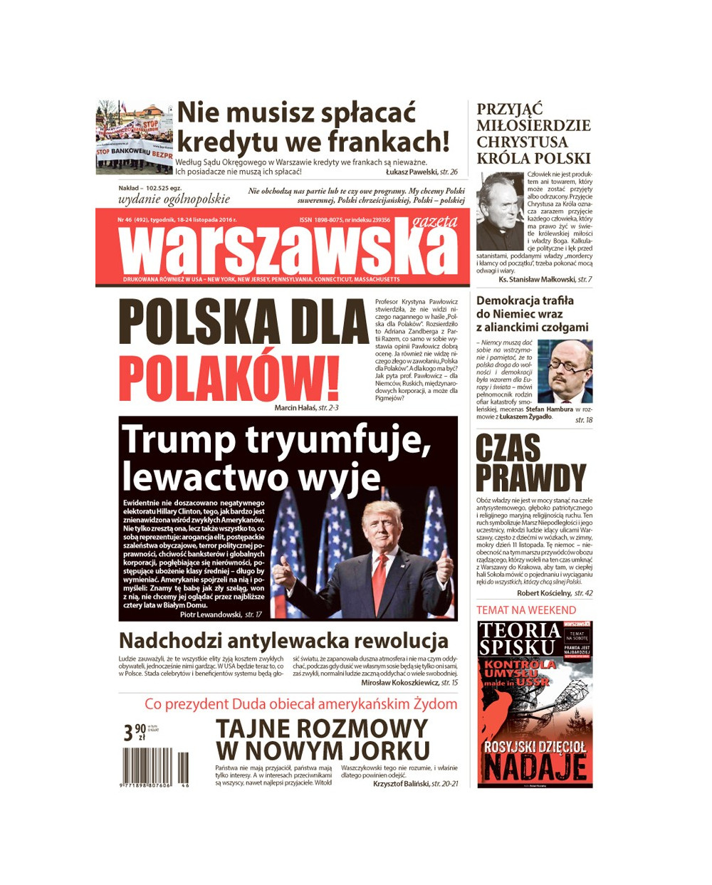Warszawska Gazeta 46/2016