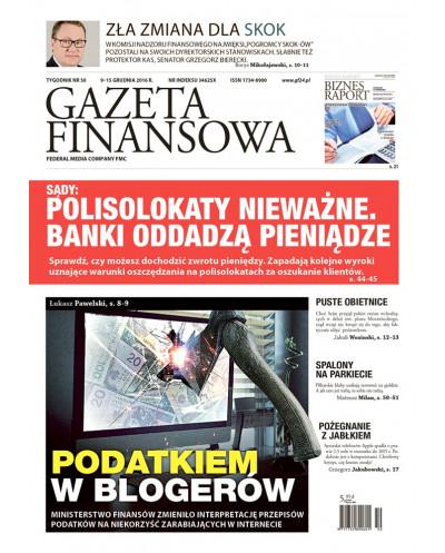 Gazeta Finansowa 50/2016