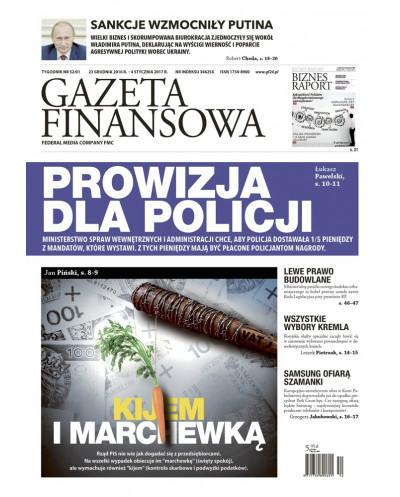 Gazeta Finansowa 52/2016