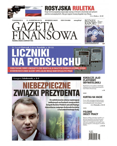 Gazeta Finansowa 15/2017