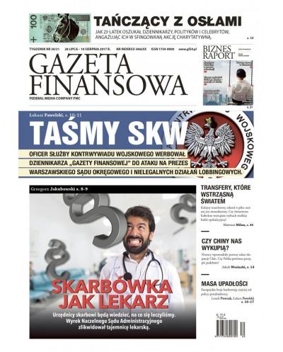 Gazeta Finansowa 30-31/2017