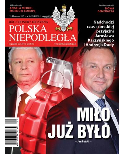 Polska Niepodległa 32-33/2017