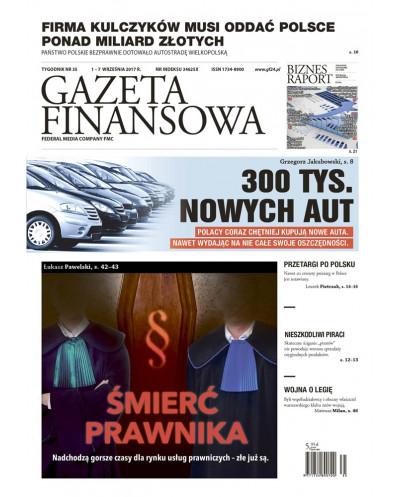 Gazeta Finansowa 35/2017