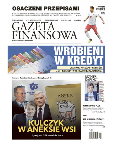 Gazeta Finansowa 36/2017