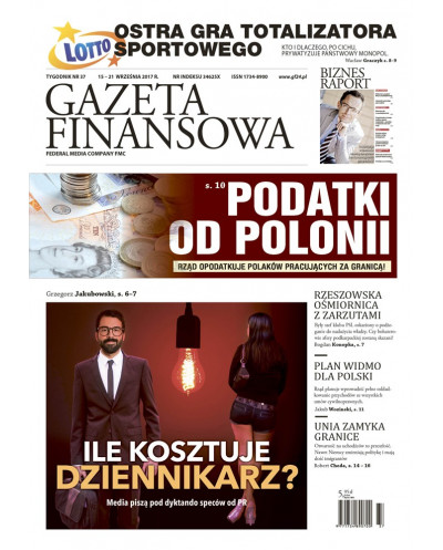 Gazeta Finansowa 37/2017