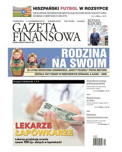 Gazeta Finansowa 40/2017