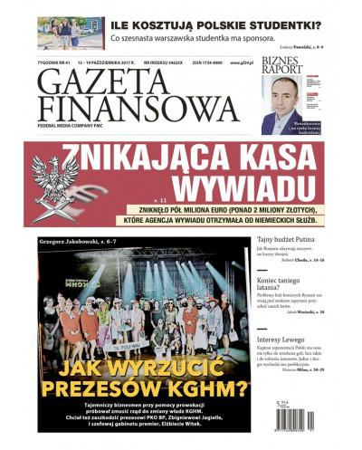 Gazeta Finansowa 41/2017