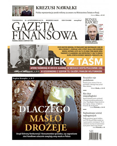 Gazeta Finansowa 42/2017