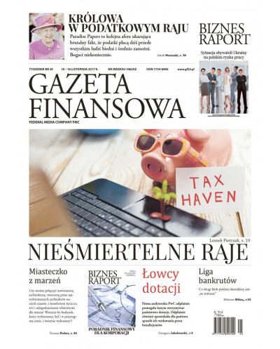 Gazeta Finansowa 45/2017