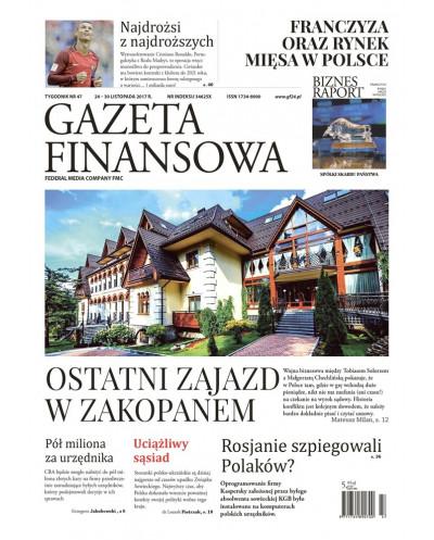Gazeta Finansowa 47/2017