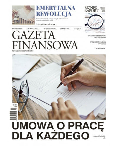 Gazeta Finansowa 10/2018