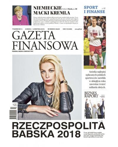 Gazeta Finansowa 13/2018