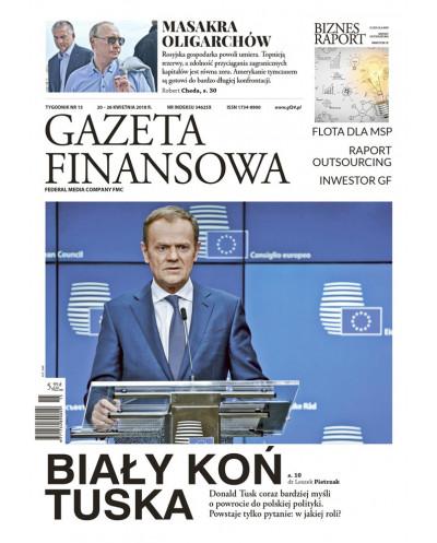 Gazeta Finansowa 15/2018