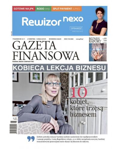 Gazeta Finansowa 16/2018