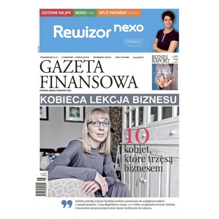 Gazeta Finansowa 16-17/2018