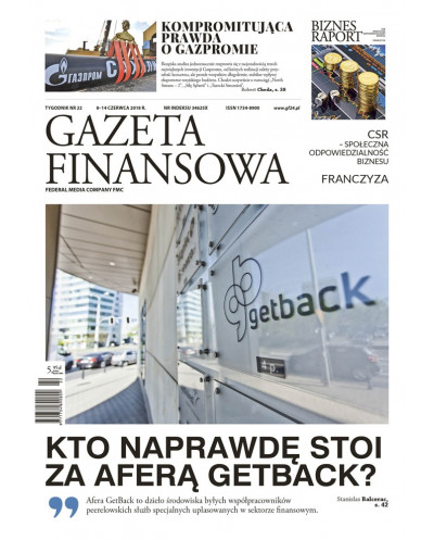 Gazeta Finansowa 22/2018